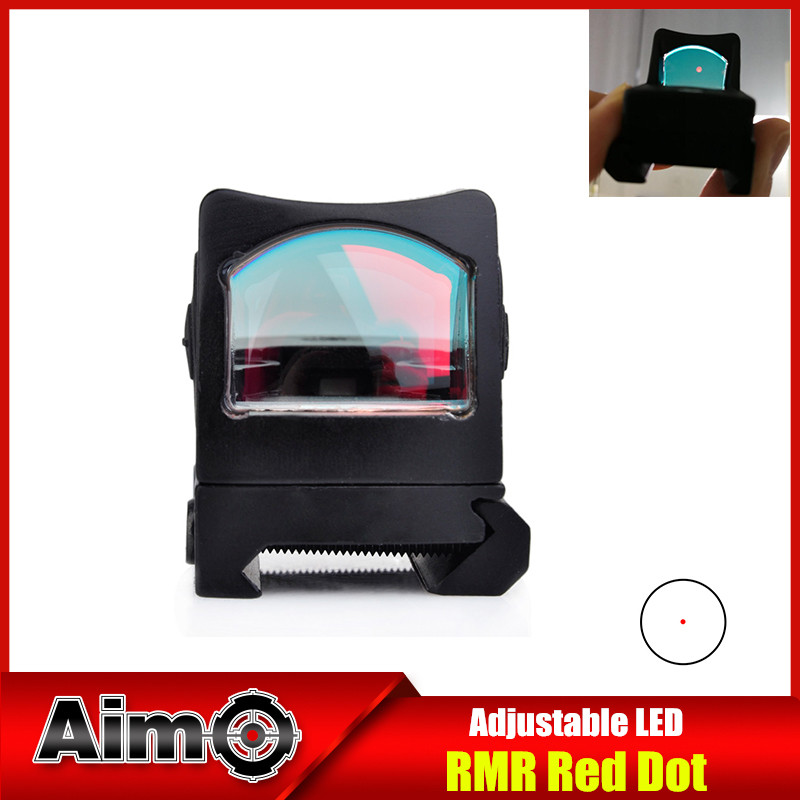 AIM Micro Sight Mini Reflex Red Dot Sight MOA Red Dot Scope Laser For Hunting Rifle Shooting Airsoft Picatinny Rail holographic laser sight scope reflex 4 red green dot reticle picatinny rail 20mm for ar rifle 12ga shotgun airsoft hunting
