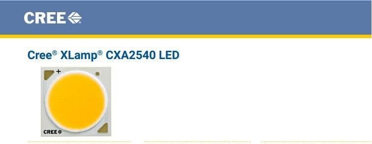 2 teile/los UNS. CREE CXA 2540 Perlen 86 Watt High Power LED-Chip 2700 ~ 3000K @ 5000 ~ 6500 karat Reines weißes/Warmes Weiß