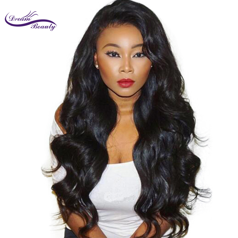 Dream Beauty Lace Front Human Hair Wigs Loose Wave 150% Density Lace Frontal Wig Brazilian Remy Hair