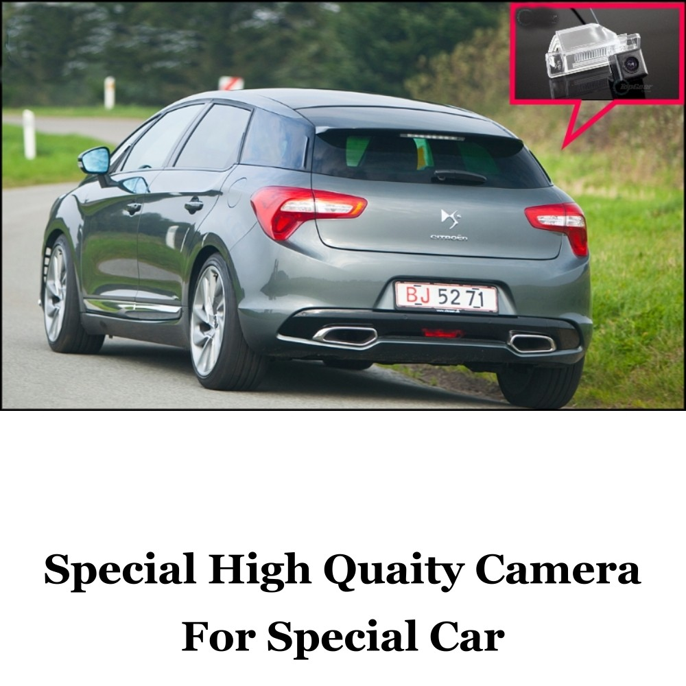 Car Camera For Citroen DS5 DS 5 2011~2015 High Quality Rear View Back Up Camera For Fans  CCD + RCACar