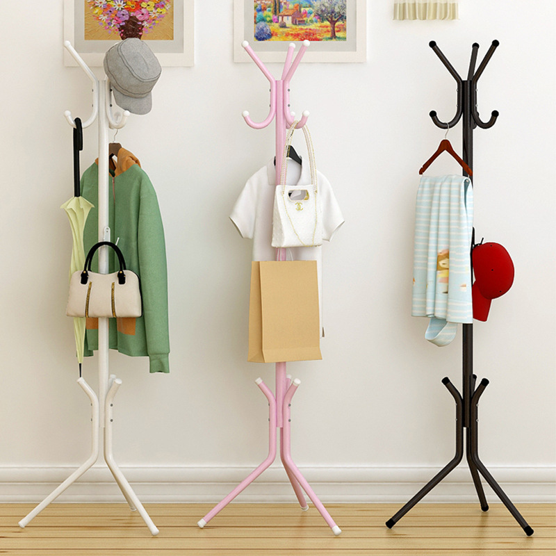 Storage rack Coat Rack Spray paint Iron pipe Simple Assembly can be removed Bedroom Furniture Hanging storage clothes hangerStorage rack Coat Rack Spray paint Iron pipe Simple Assembly can be removed Bedroom Furniture Hanging storage clothes hanger