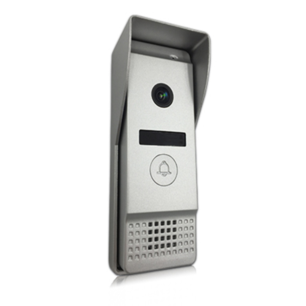 Купить с кэшбэком Dragonsview  7 Inch Video Door Phone Intercom Doorbell Camera Touch Screen 960P AHD  Unlock With SD Card Record Motion Detection