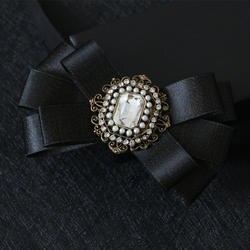 Я-Remiel галстук жениха женихов Для мужчин Ткань Алмаз галстук-бабочку для Для мужчин британский стиль воротник рубашки аксессуары галстук