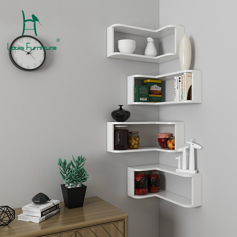 US $41.9 |Louis Fashion Bookcases Store Bedroom Living Room Dining Room  Corner Decoration Modern-in Bookcases from Furniture on AliExpress