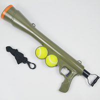Ball Dog Toy Funny Pet Dog Gun Toy Training Muzzle Catapult Incentive Tool Outdoor Toys Pet Treat Launcher PT075