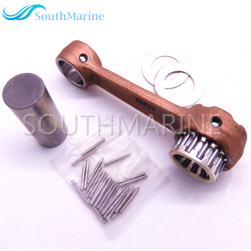 Outboard Motor 689-11651-00 Connecting Rod Kit For Yamaha Parsun 30HP 25HP 2stroke T30  Boat Engine