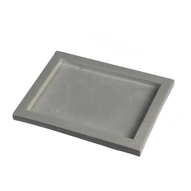 シリコーントレイ型手作り正方形セメント板の金型