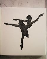 Custom Ballet Girl Rubber Stamp Logo 1pcs Inkpad Card Wedding Carimbo Personalizado Card Decoration Shop Chapter