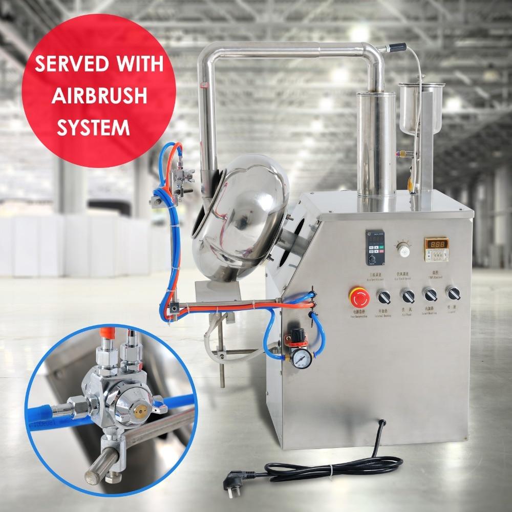 (110 V 60 HZ) BYC-300 serijos tablečių dengimo mašina / piliulės dengimo mašina / galios dengimo mašina