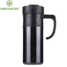 OWNPOWER Edelstahl Saugnapf & Thermoskannen Mein Trinkwasser Flaschen Camping Thermische Tumbler Flaschen Thermocup Kaffeetasse