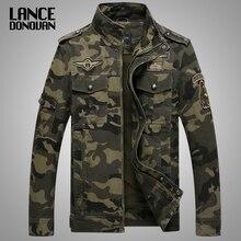Chaqueta militar estilo militar para hombre, chaqueta informal de camuflaje táctico, cazadora de talla grande M XXXL 4XL, 2019