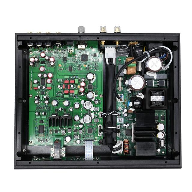 SMSL A8 125Wx2 AK4490 768khz DSD512 XMOS HIFI ICEpower Module Audio Digital Power Amplifier/DAC/Headphone Amp Latest Solution 5