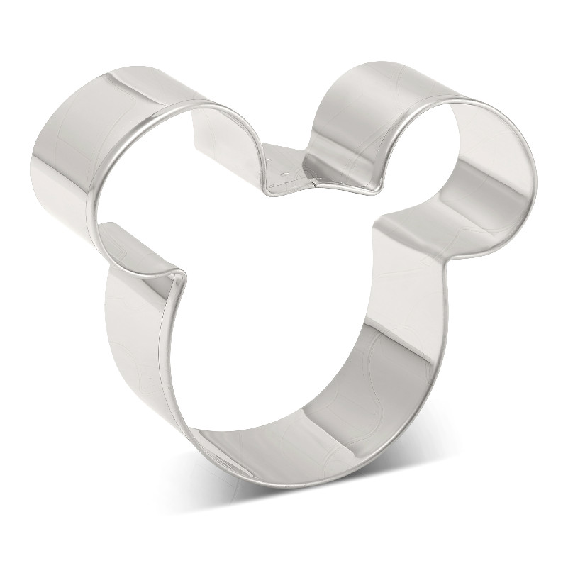 KENIAO Mickey Mouse Cookie Cutter for Kids Party Biscuit / Fondant / Pastry / Sandwiches Cutter   10 * 6.3 cm   Stainless Steel|Cookie Tools| |  - title=