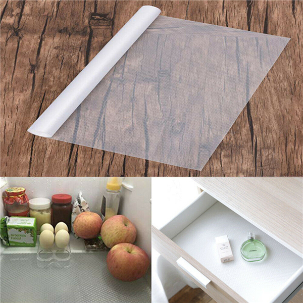 Non Slip Drawer Mat Shelf Liner Cabinet Storage Pad ...