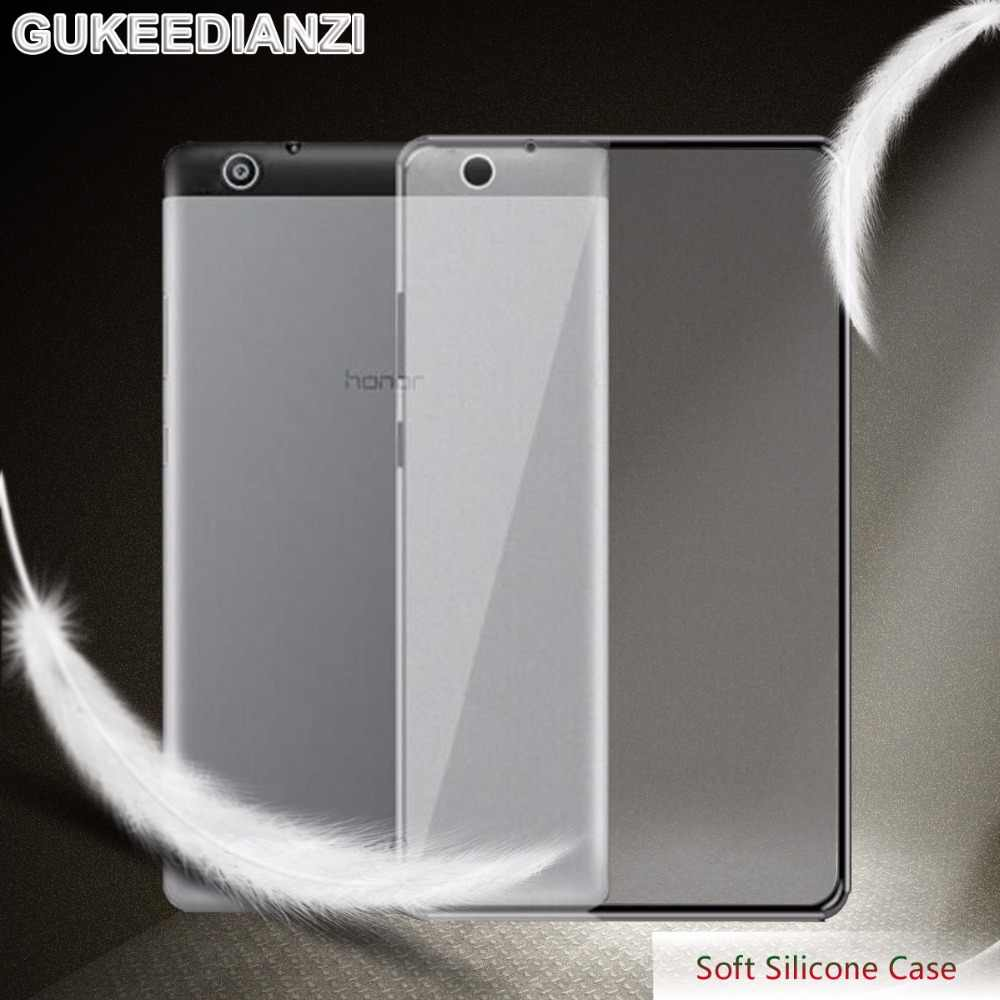 GUKEEDIANZI Soft Silicone Tablets Case For Huawei MediaPad T3 7.0 3G wifi BG2-U01/ Media Pad T3 10 8.0 /T5 10.1 TPU Cover Case