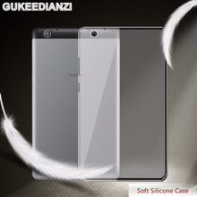 GUKEEDIANZI Soft Silicone Tablets Case For Huawei MediaPad T3 7.0 8.0 3G wifi Version BG2-U01 7 Inch TPU Matte Transparent Cover(China)