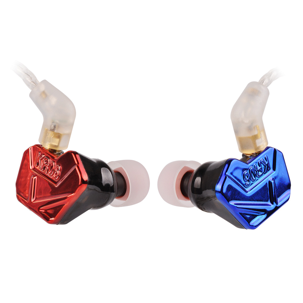 Newest Wooeasy DIY ACZ KR06-6 2BA+1DD Armature &Dynamic Hybrid Headset Earphone HiFi Earplug Earbuds With MMCX Cable цена