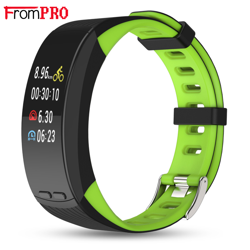Professional GPS Sport Bracelet P5 Plus Smart Band Color Display Heart Rate Monitor Wristband Barometer Activity