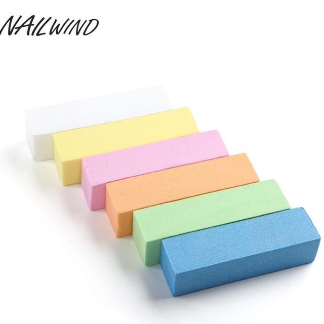 NAILWIND Sanding Sponge For Nail Art Manicure 1PCS Nail File Buffer ...
