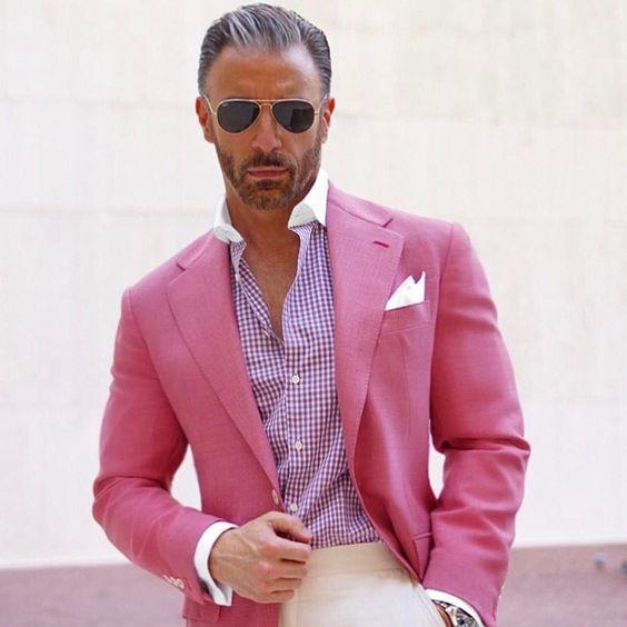 Здесь продается  2017 Latest Coat Pant Designs Hot Pink Men Suit Casual Blazer Custom Skinny 2 Piece Party Jacket Style Suits Groom Tuxedo Terno  Одежда и аксессуары