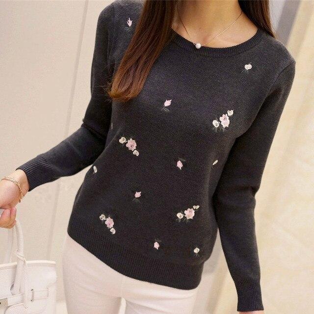 Фото s 3xl новый молодежный женский свитер осень зима 2020 модный цена