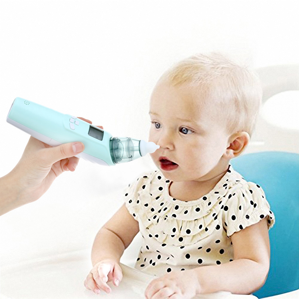 Baby Nasal Aspirator Electric Nose Cleaner Nose Tips Newborn Baby Care Safety Suction Nasal For Infants Children Kids Newborn