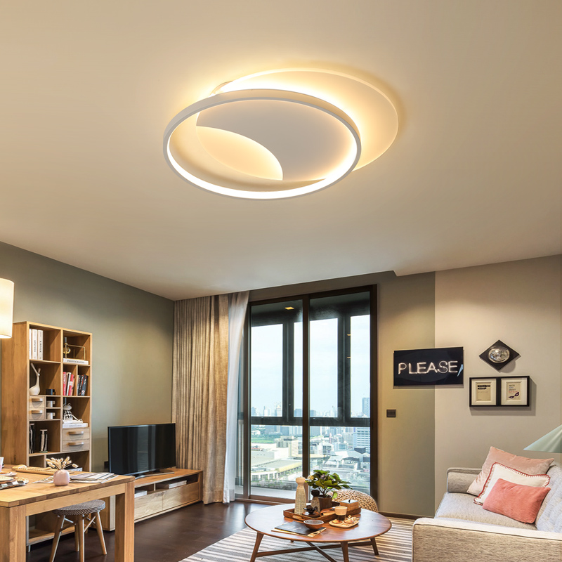 White modern round LED chandelier for living restaurant bedroom study kitchen chandelier with remote luxury chandelier fixtureWhite modern round LED chandelier for living restaurant bedroom study kitchen chandelier with remote luxury chandelier fixture