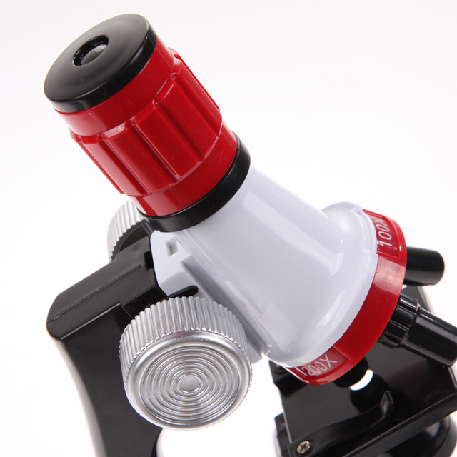 Microscope Kit with 100x, 400x and 1200x Magnification