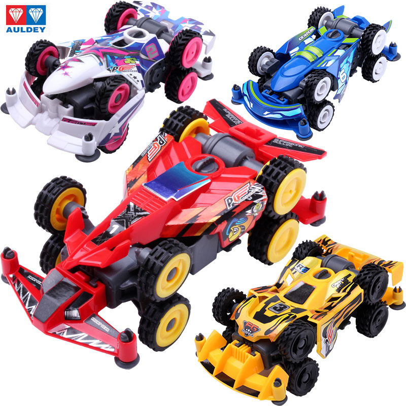 2016 NEW Electric Car AULDEY DIY 4WD Racing Car Toys Collectable Assembled Model 4x4 Driving Amazing Car GIfts For Kids auldey 88010 abs racing car kit