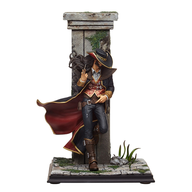 Good Quality online Game Twisted Fate Action Figure Pvc Decoration Color Japanese Anime Kids Toy jinx 10 24cm high quality pvc action figure kids toy online game colletion model toy great gifts for kids box free