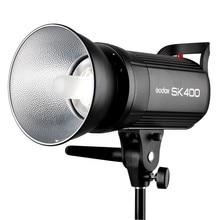 Godox SK400 400WS Flash Studio Strobe Lighting Head GN65 LED Display Flash Light Lamp