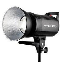 Godox SK400 400WS Flash Studio Strobe Lighting Head GN65 LED Display Flash Light Lamp