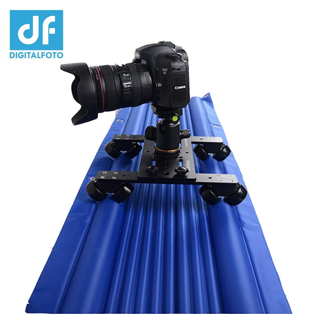 DF DIGITALFOTO Professional air track camera slider design travel portable video slider 1 2m 120cm dolly