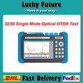 OTDR con 1310/1550nm 32/30dB Función de Ubicación Visual de Fallos De Fibra Óptica equipo de Prueba de comunicación De Fibra OTDR