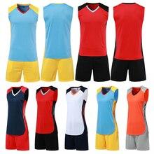Новое поступление, мужские и женские майки для волейбола, наборы, пустая форма для волейбола, командная спортивная одежда, спортивные костюмы, одежда с принтом