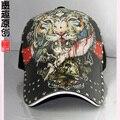 2015 mais recente venda Tatuagem homem snapback gorras boné de Beisebol personalidade fashion padrão chapéu