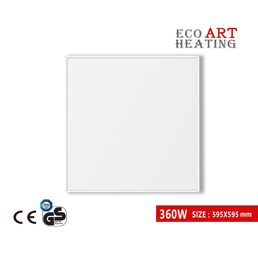 360W Energy Efficient Electric Heating Infrared Radiant Panel Heater Wall Mount