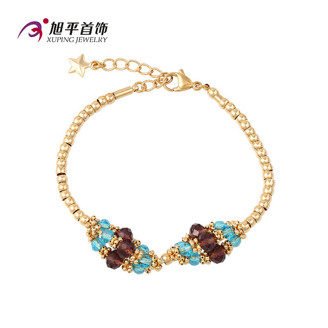 colors Hollow famous brand Gold Bracelet Europe cute party crystal women jewelry fashion bride women jewelry girlfriend gift