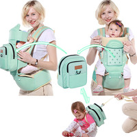 Multifunctional Newborn Backpack Ergonomic Baby Carrier Front Back Adjustable Baby Carrier Backpack Pouch Wrap Baby Kangaroo
