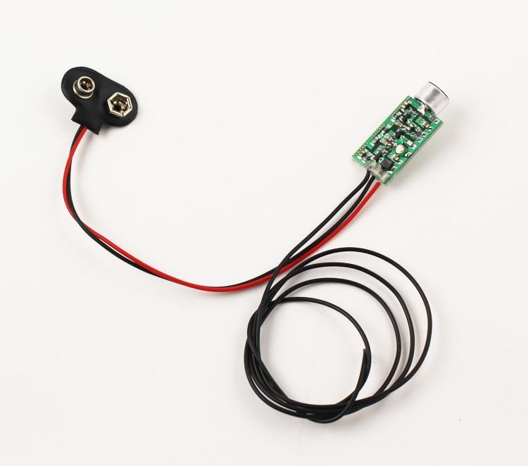 10 copë M01 Mini FM transmetues 60MHZ-128MHZ mini-bug teltap i - Audio dhe video në shtëpi - Foto 4