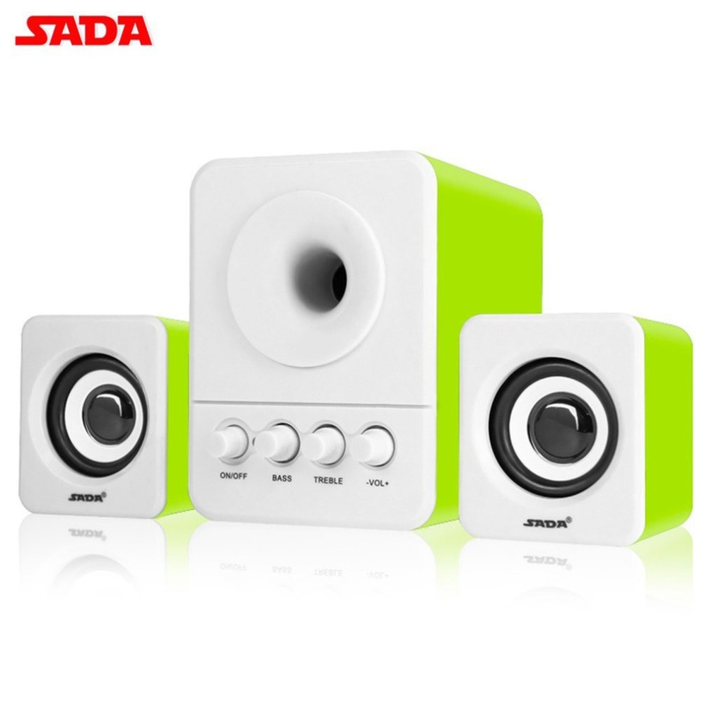 SADA USB2.1 & 3.5mm Audio Interface Ster