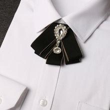 Новый мужской модный галстук бабочка превосходного качества