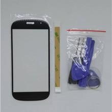 Для Yotaphone 2 YD201 YD206 смартфон Замена емкостный сенсорный экран передняя черная панель+ клейкая лента