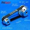 FitSain 3M 20 T: 40T 1:2 puleggia ruota sincrono di decelerazione cinghia di distribuzione larghezza di banda 10 fori 5/6/6.35/8|Pulegge|Miglioramento della casa -