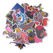 Patchfan 20pcs Dumbo elephants cartoon vintage decal scrapbooking Kids for DIY phone Laptop Motorcycle Waterproof Stickers A1898