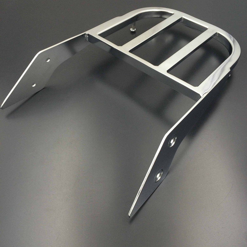 Chrome Black Motorcycle Sissy Bar Luggage Rack Holder For Honda VTX 1300C 1800C 1800F VTX1300C VTX1800C
