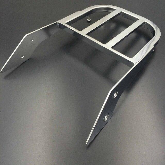 Chrom/czarny motocyklowe oparcie kierowcy bagażnik uchwyt do Honda VTX 1300C 1800C 1800F VTX1300C VTX1800C VTX1800F