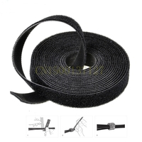 1PCS 25meters Velcro Wide 10 Mm Hook Loop Self Adhesive Magic Velcro Colorful