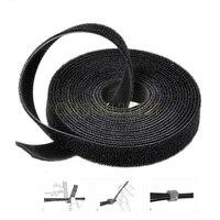 1PCS 25meters Magic cable tie Wide 20 mm Hook Loop self adhesive magic colorful