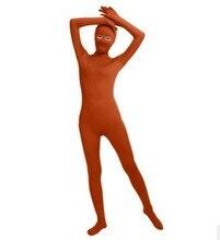 (SWO007) Spandex Full Body Skin Tight Unisex Zentai Suit Bodysuit Costume Women Unitard Lycra Eyes Open Jumpsuit